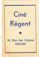 Ciné  Régent à Ixelles - Programmes