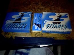 Publicité Cigarette Boites Ancienne En Carton X3 Différentes GITANES Caporal** - Cigarettes - Accessoires