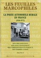POSTE AUTOMOBILE RURALE EN FRANCE ( 1926 - 1971 ) Par Alain FLOC'H - Oblitérations