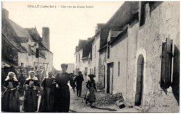 44 SAILLE - Une Rue Du Vieux Saillé - Frankreich