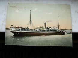 ANVERS +CONGO BELGE +BATEAU: DEPART POUR LE CONGO DU SS LEOPOLDVILLE - Antwerpen