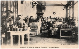 76 ELBEUF - Usine De Conserves CHAPIN - Le Laboratoire - Elbeuf