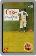 USA - Sprint - Score Board - SBI-444 - Coca Cola Adv. '95, Remote Mem. 2$, 7.100ex, Mint - Vereinigte Staaten