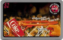USA - Sprint - Score Board - SBI-446 - Coca Cola Adv. '95, Remote Mem. 2$, 7.100ex, Mint - Vereinigte Staaten