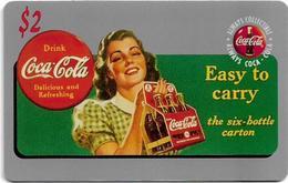 USA - Sprint - Score Board - SBI-447 - Coca Cola Adv. '95, Remote Mem. 2$, 7.100ex, Mint - Vereinigte Staaten