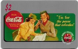 USA - Sprint - Score Board - SBI-449 - Coca Cola Adv. '95, Remote Mem. 2$, 7.100ex, Mint - Vereinigte Staaten