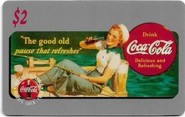 USA - Sprint - Score Board - SBI-450 - Coca Cola Adv. '95, Remote Mem. 2$, 7.100ex, Mint - Vereinigte Staaten