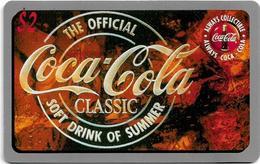 USA - Sprint - Score Board - SBI-464 - Coca Cola Adv. '95, Remote Mem. 2$, 7.100ex, Mint - Vereinigte Staaten