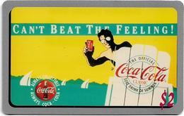 USA - Sprint - Score Board - SBI-465 - Coca Cola Adv. '95, Remote Mem. 2$, 7.100ex, Mint - Vereinigte Staaten