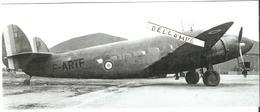 PHOTO AVION LOCKHEED C60 LODESTAR F-ARTF RESEAU AERIEN MILITAIRE RAMF EX AIR FRANCE A ALGER 1944 17X6CM - Aviation