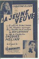 """"""" La Jeune Veuve"""" Par Christine Ellsen - Partitions Musicales Anciennes"""