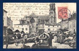 54. Toul. Place Du Marché. Eglise St. Gengoult. Grand Magasin De Comestibles. 1906 - Toul
