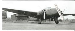 PHOTO AVION LOCKHEED C60 LODESTAR F-ARTF RESEAU AERIEN MILITAIRE FRANCAIS RAMF EX AIR FRANCE A ALGER 1944 17X7CM - Aviation