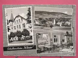 Visuel Très Peu Courant - Allemagne - Heeßen - Schullandheim Weser - Joli Timbre - Recto Verso - Schaumburg