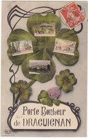 Prix Fixe - Draguignan - 1913 - Porte Bonheur - Trèfle  # 3-19/4 - Draguignan