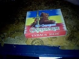 Publicité Cigarette Boites Ancienne En Carton   Espagne Tabacs REIG Marque Charlemagne - Cigarettes - Accessoires