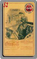 USA - Sprint - Score Board - SBI-470 - Coca Cola Adv. '95, Remote Mem. 2$, 7.100ex, Mint - Vereinigte Staaten