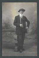 Un Gars Du Nord En 1913 -  PHOTO Carte LOUIS De LOOS (59 Nord) - Loos Les Lille