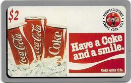 USA - Sprint - Score Board - SBI-472 - Coca Cola Adv. '95, Remote Mem. 2$, 7.100ex, Mint - Vereinigte Staaten