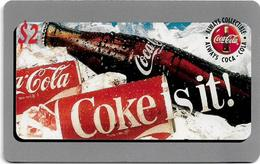 USA - Sprint - Score Board - SBI-477 - Coca Cola Adv. '95, Remote Mem. 2$, 7.100ex, Mint - Vereinigte Staaten