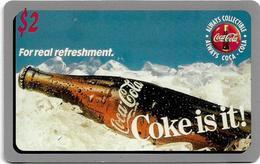 USA - Sprint - Score Board - SBI-478 - Coca Cola Adv. '95, Remote Mem. 2$, 7.100ex, Mint - Vereinigte Staaten