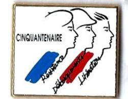 AB - C49 - CINQUANTENAIRE RESISTANCE - DEBARQUEMENT - LIBERATION - Verso : ARTHUS BERTRAND / PARIS - Arthus Bertrand
