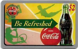 USA - Sprint - Score Board - SBI-485 - Coca Cola Adv. '95, Remote Mem. 2$, 7.100ex, Mint - Vereinigte Staaten