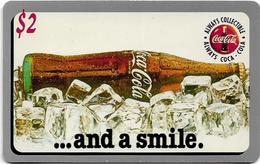 USA - Sprint - Score Board - SBI-489 - Coca Cola Adv. '95, Remote Mem. 2$, 7.100ex, Mint - Vereinigte Staaten