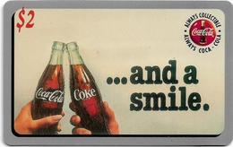 USA - Sprint - Score Board - SBI-490 - Coca Cola Adv. '95, Remote Mem. 2$, 7.100ex, Mint - Vereinigte Staaten