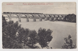 Gorizia, Ponte Della Ferrovia Meridionale Sull' Isonzo (Görz, Eisenbahn) - Gorizia
