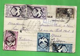 France A.E.F.  Carte Postale Postal History Very RARE 19 Oct 1944 - A.E.F. (1936-1958)