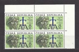 Czech Republic 1993 MNH ** Mi 11 Sc 1130 Anniversary Of The Arrival Of Cyril And Methodius. Tschechische Republik. C3 - Czech Republic