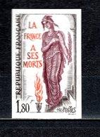 FRANCE  N° 2389  NON DENTELE NEUF SANS CHARNIERE  COTE 15.00€   SOLDAT INCONNU - France