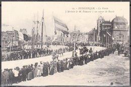 59  DUNKERQUE  La Pointe L'Arrivée De  M. POINCARÉ à Son Retour De RUSSIE 1912  CPA  Non écrite  TRES ANIMEE - Dunkerque