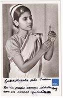Carte Postale Années 1940 Inde Thiruppattur Tirupattur India Infirmière Mission Catholique De Suède Hôpital A32-87 - India