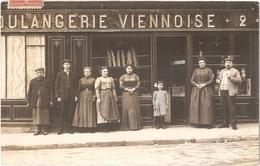 Dépt 94 - VILLEJUIF (2, Rue Du Moutier) - CARTE-PHOTO Devanture BOULANGERIE VIENNOISE - Villejuif