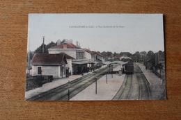 Cpa  Saint Andre Le Gaz La Gare Animée - Saint-André-le-Gaz