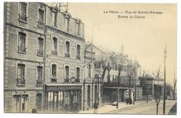76-LE HAVRE-Rue De Sainte-Adresse, Entrée Du Casino...1911  Animé  Café-Débit Du PANORAMA... - Le Havre
