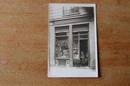 Carte Photo La Papeterie  Jouet Et Cartes Postales Vers 1920 - Magasins
