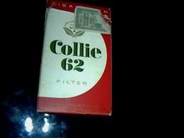 Publicité Cigarette Paquet Vide Ancien  En Carton Marque Collie 62 Waldore  Astoria Hambourg     Origine Allemande - Sigarette - Accessori