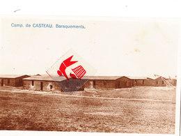 CAMP DE CASTEAU - Baraquements - Carte Circulé 1919 - Soignies