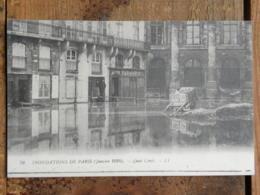 CPA (75) Paris - Inondations De Paris (Janvier 1910) - Quai Conti - Inondations De 1910