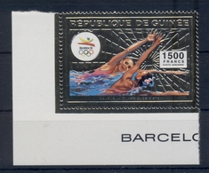 GUINEA* 1992 * GOLD Stamp * MNH** Olympic Games, Barcelona - Mi.No 1376 - Guinée (1958-...)
