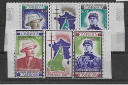 Cameroun Poste Aérienne N°164A & 175A - De Gaulle - Neuf ** Sans Charnière - TB - Cameroun (1960-...)