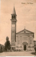 Cartolina Onara  (PV) Via Chiesa Viaggiata 1917 Come Da Foto - Padova (Padua)