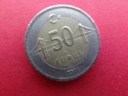 Turquie  50 Kurus  2011  Km 1243 - Turquie