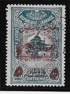 Grand Liban - Armée Libanaise Maury N°201A - Oblitéré - TB - Used Stamps