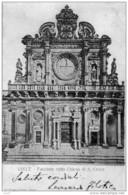 Cartolina Postale Lecce -Facciata Chiesa Di S.Croce Viaggiata Come Da Foto - Lecce