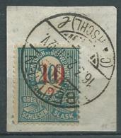 Haute Silésie - N° 28 Oblitéré Sur Fragment  ( Beuthen Mars 1923 ) -   Ay10201 - Silesia (Lower And Upper)