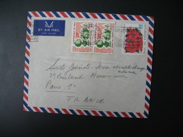 Lettre Recommandé Thème Jouet Démontable Canard    Mali 1971  Pour La Sté Générale En France Bd Haussmann Paris - Mali (1959-...)